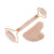 Wonders – Rose Quartz Face Roller and Gua Sha