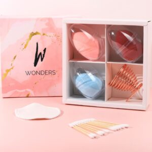 Wonders – Trio Makeup Sponge Set