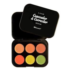 BH Cosmetics –  6 Color Concealer & Corrector Palette