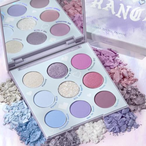 ColourPop – In A Trance Blue Purple Eyeshadow Palette