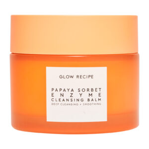 GLOW RECIPE – Papaya Sorbet Enzyme Cleansing Balm