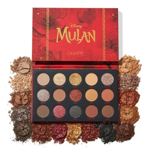 ColourPop – Disney Mulan Eyeshadow Palette