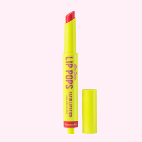 Lime Crime – Lip Pops Satin Lipstick in Firecracker
