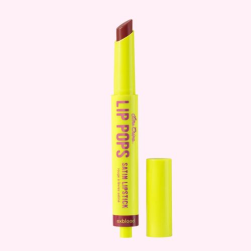Lime Crime – Lip Pops Satin Lipstick in Oxblood