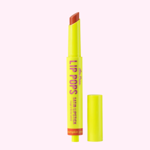 Lime Crime – Lip Pops Satin Lipstick in Pumpkin Pop